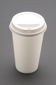 If your paper cup has a plastic lining, it will end up in the landfill.
